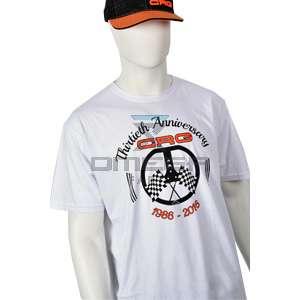 Keijzer Racing Parts  616632 CRG wit T-shirt 30 jarig bestaan