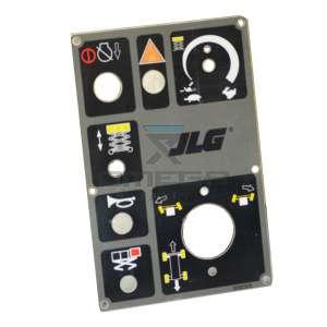 JLG  3252326 Nameplate
