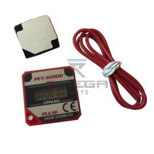 Keijzer Racing Parts  624020 LCD urenmeter