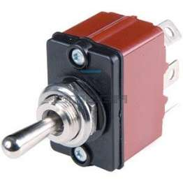 Haulotte  2440901640 Toggle switch - 2 pos - spring return
