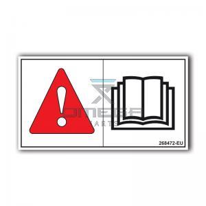 GMG  268472-EU GMG Decal read manual EU