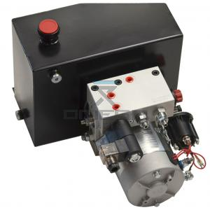 GMG  61085 Power unit - Tank, pump, motor and manifold. As applied on GMG 1930ED.