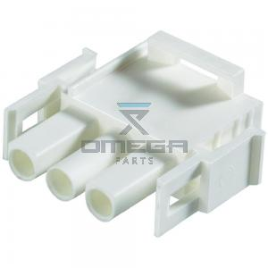 Omega Infra BV 743.202 Plug housing, panel, 3WAY