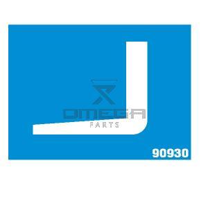 MEC Aerial Work Platforms 90930 Decal fork lift