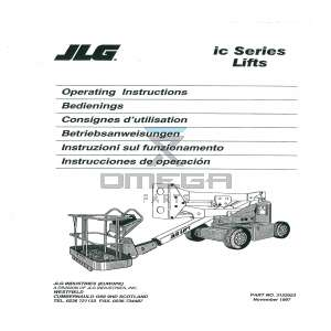 JLG  3122023 Operator manual multi lang JLG 40 45 IC series