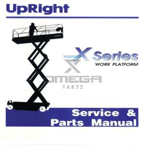 SNORKEL 060571-022 Service & Parts Manual X-series serie range 6013 - 15019