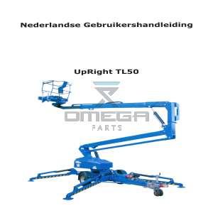 UpRight / Snorkel 503301-000-NL Operator Manual TL50 - NL