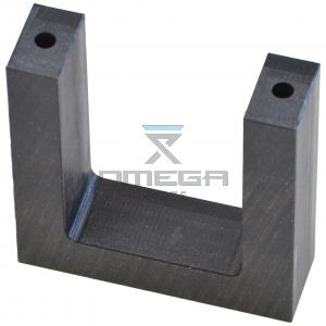 Genie Industries  81341 Wear pad - cabletrack pull tube