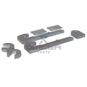 OMEGA  804290 Quick qoupler weldment