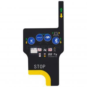 Mantall  05J0000297 Decal, upper control panel