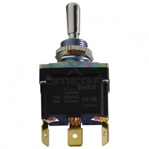 GMG  41006 Toggle switch - 3 pos. spring return to center