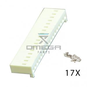 SNORKEL 058119-011 Terminal strip with contact - suitable for MOS90 connection
