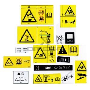 Genie Industries  82709 Decal kit - symbols - GS2032 and GS2632
