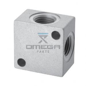 OMEGA 862420 4-way split manifold