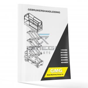 GMG  940400-1-NL Operator Manual - GMG 1930ED----4646ED -- NL--