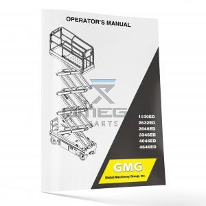 GMG  940400-3-EN Operator Manual - GMG 1930ED----4646ED -- EN--