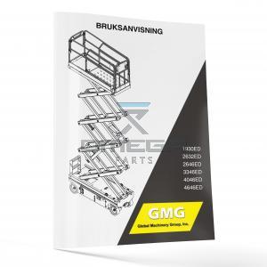 GMG  940400-3-SE Operator Manual - GMG 1930ED----4646ED -- SE--